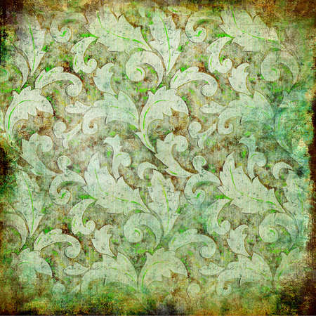 Retro floral background Lizenzfreie Bilder