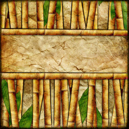 bamboo background Stock Photo - 8240632
