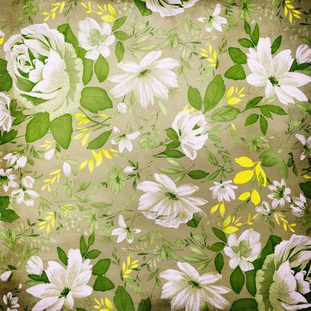 decorative floral background  photo
