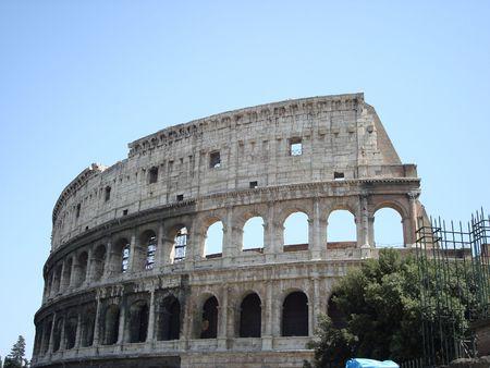 Rome Italy Coliseum Zdjęcie Seryjne