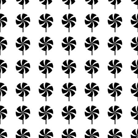 molinete: Vector icon Perinola sin patr�n, ornamento de mosaico en blanco.