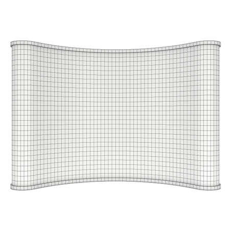 trade show: Wireframe Mesh Trade show booth Stock Photo