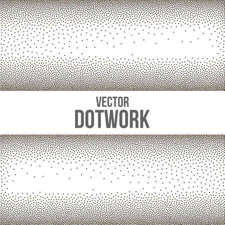 fondo degradado: Gradient Background with Black Dots Vectores