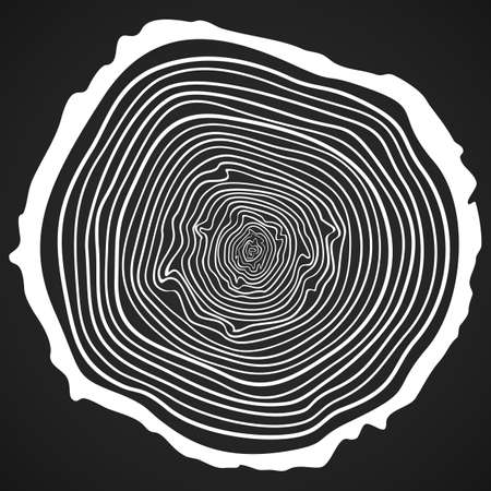 tree rings: Tree Rings Background and Saw Cut Tree Trunk.