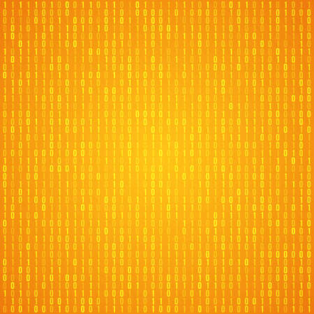 technology background: Abstract Orange Technology Background.