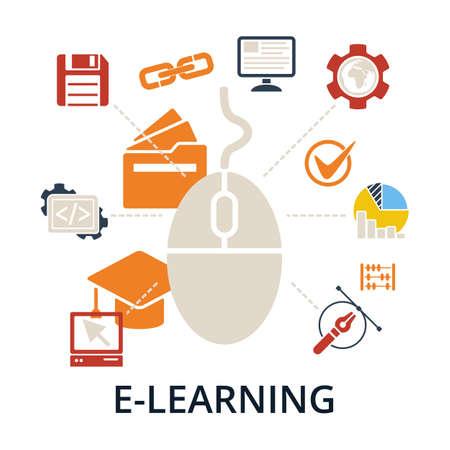 ap: E-learning concept.