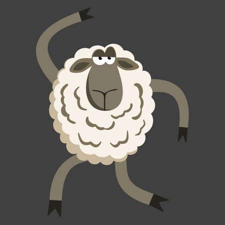 Stubborn Silly Dance Lamb.
