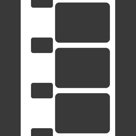 strip design: Vector 8 mm Film Strip Illustration on Black Background. Abstract Film Strip design template. Film Strip Seamless Pattern.