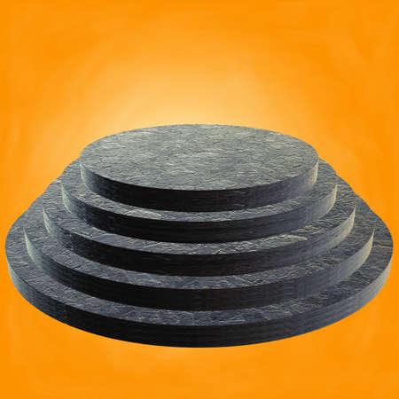 Round stage marble podium