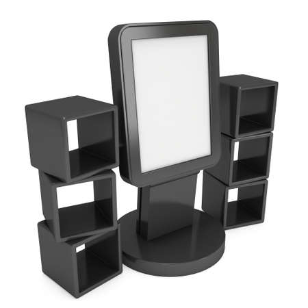lcd display: LCD display stand and display boxes
