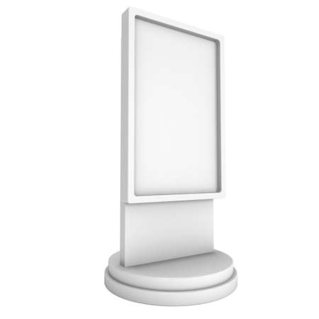 obelisk: Trade show booth LCD screen stand