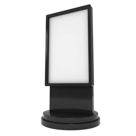 lcd screen: Trade show booth LCD screen stand