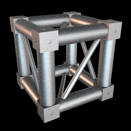 truss: Steel truss girder element