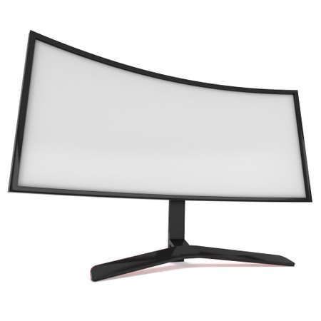 fullhd: Black LCD tv screen