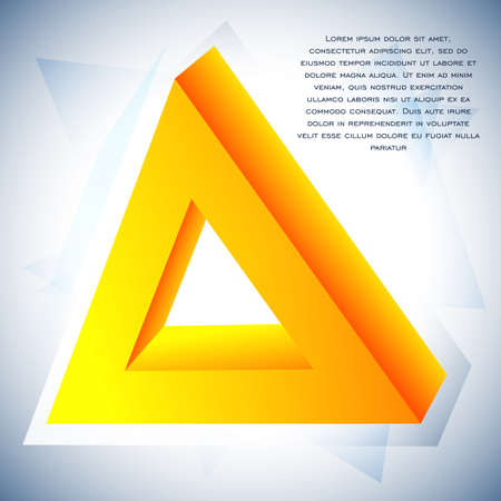 deltoid: Delta icon for your business promotional artwork Illustration