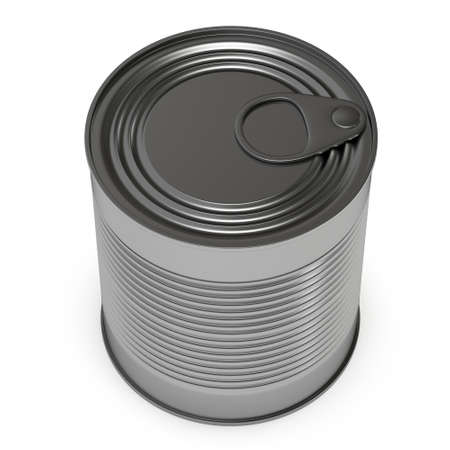 Canned food 3D render