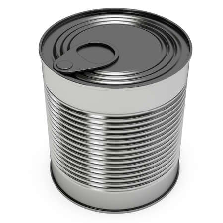 hermetic: Canned food 3D render