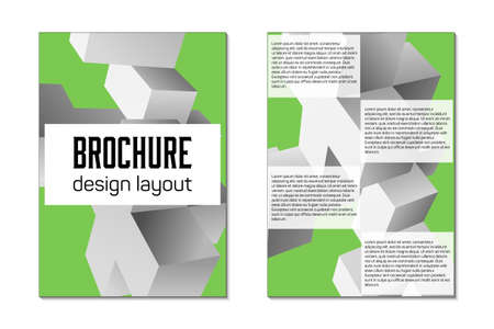 brochure design template flyer royalty free cliparts vectors and