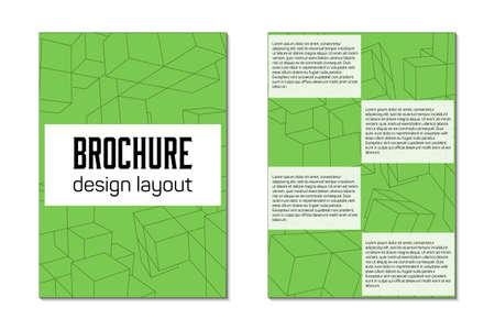 Broschüre Design Vorlage Flyer