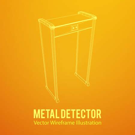 Metal detector scanner.