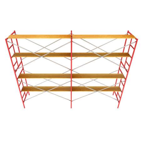 Scaffolding metal construction Banco de Imagens