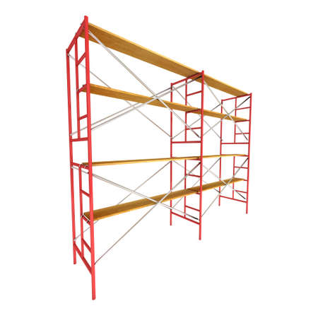 Scaffolding metal construction 版權商用圖片