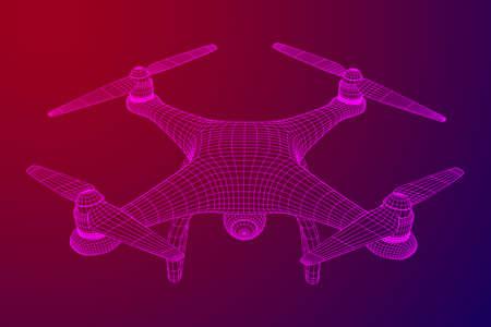 Remote control air drone.