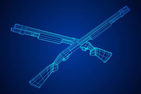 Shotgun rifle hunting carbine