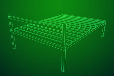 Base orthopedic bed Vectores