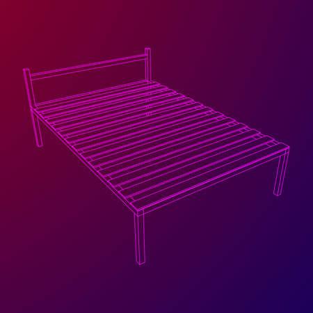 Base de cama ortopédica.