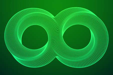 Mobius strip ring infinity sacred geometry