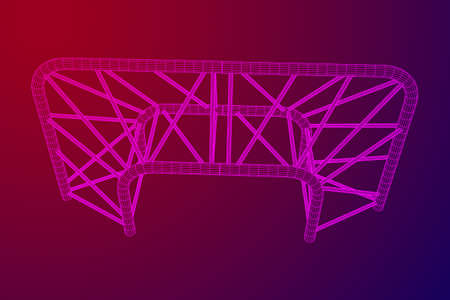 Truss girder element