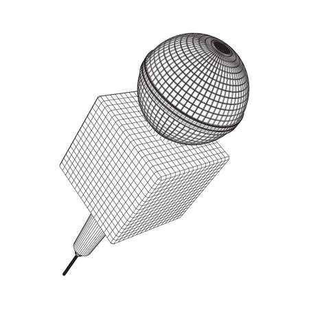 Microphone icon Vectores