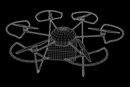 Remote control air drone