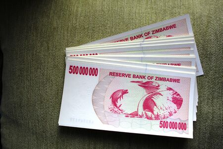500 million dollars a wad of banknotes