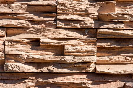 texture of brown stone. Basics design template. Stockfoto - 133470305