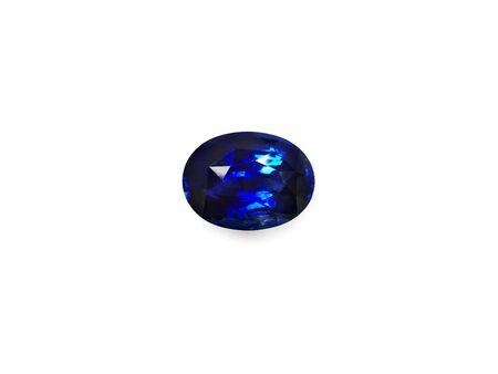 zafiro: Azul Zafiro Piedra Foto de archivo