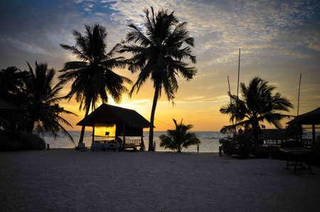 Sunset on Ko Phangan, Thailand Stock Photo - 13660090