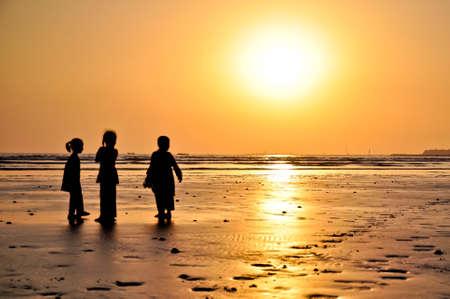 pakistan: Clifton beach, Karachi, Pakistan