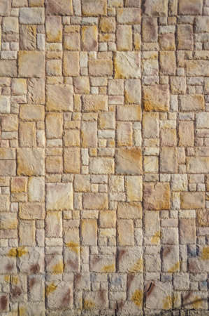 stone wall texture: old brick wall background Stock Photo