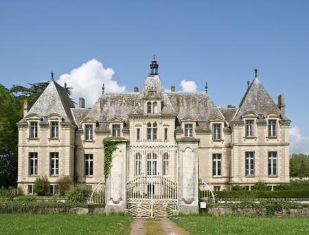 Klasyka francuski Zamek w dolinie Loire