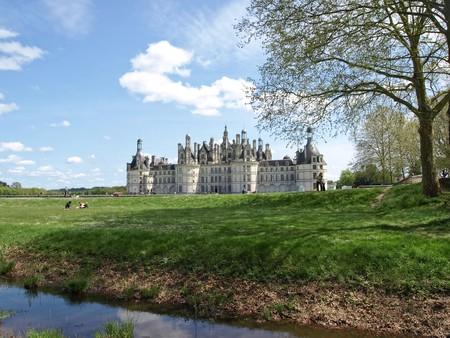 chambord: Royal castle Chambord in France Stock Photo