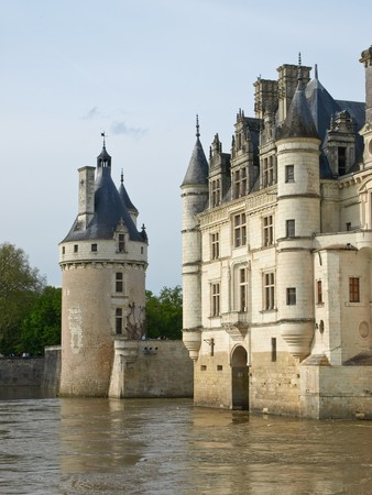 Castle over the river photo