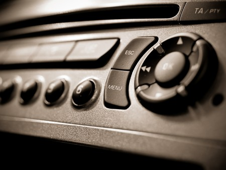 Auto audio control buttons