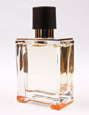 Parfume bottle on white background