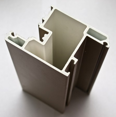 Fiber glass pultruded profile for windows and doors manufacturing photo