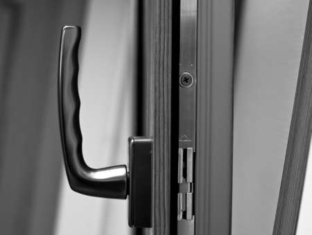 fiberglass: Identificador de ventana en ventana de fibra de vidrio abri�.