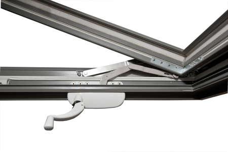 fiberglass: Ventana de ingl�s de fibra de vidrio con apertura externa