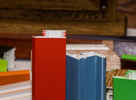 fiberglass: Fibra de vidrio colorised muestras de perfil para ventanas y puertas de fabricaci?n