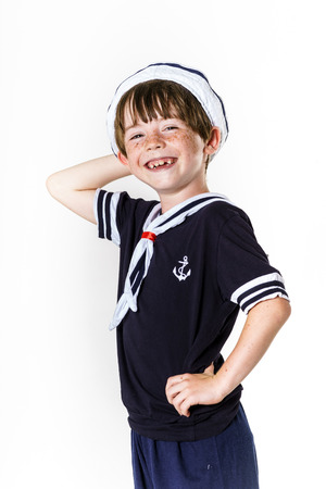 carroty: Cute little carroty boy dressed in sailor suit